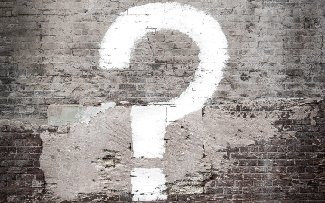 question mark on brick wall myths about photography