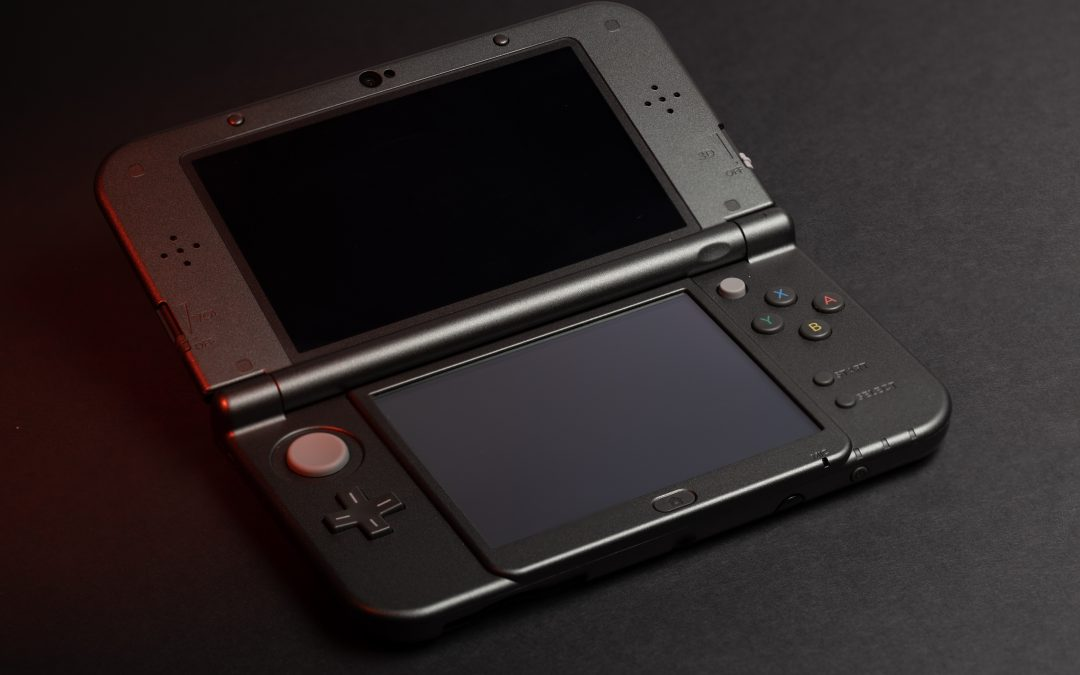 nintendo 3ds product photography ideas