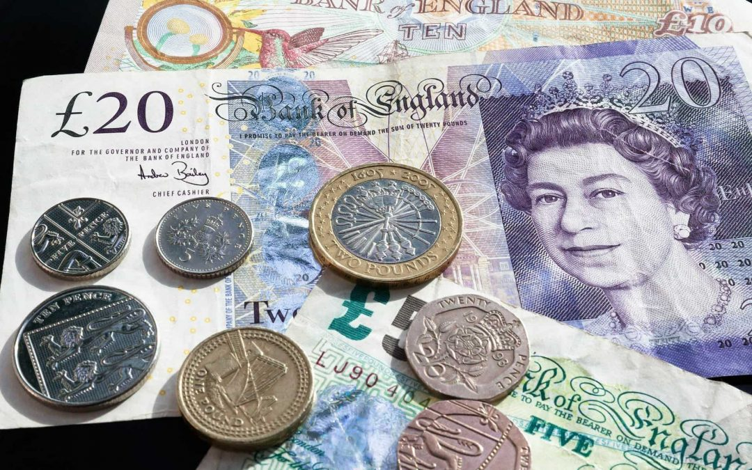 Great British Pound Notes And Coins My Fourth Month Blogging